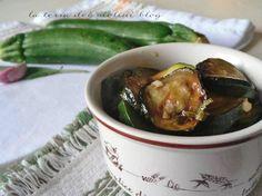 Zucchine, al profumo di salvia,olio e aceto