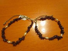 red/white small glass shell pearl gemstone beads bracelets.   Jewelry & Watches, Handcrafted, Artisan Jewelry, Bracelets   eBay!