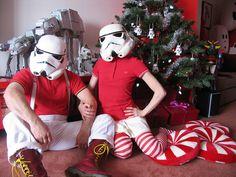 Wow.  Star Wars Christmas tree.  DeathSTAR...  need I say more?