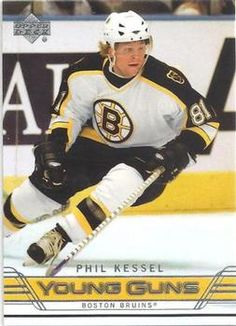 Phil Kessel Upper Deck Young Guns #204