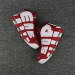 2018 Buy Supreme x Nike Air More Uptempo Varsity Red White Nike Air Max For Women, Nike Women, New Year Deals, Red Bandana, Air Max 270, Red And White, Air Jordans, Supreme, Style