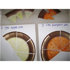 Apple and pumpkin pi