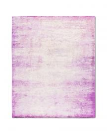 Rug Star. Walking Fields. Waterlily Supreme No. 01 Vintage Ice Cold Pink. 100% Chinese silk. 250 cm x 300 cm