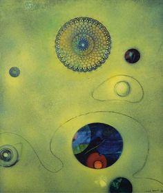 'Un capricho de Vénus', oleo de Max Ernst (1891-1976, Germany)
