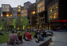Studentská kolej v dánským Tietgenu (21 fotek) - obrázek 3