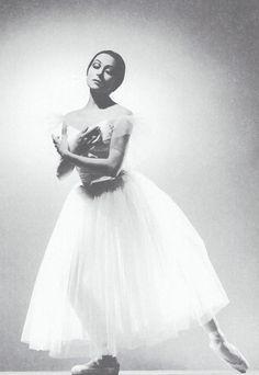 Vintage ballet photo. Ballerina Yvette Chauvire