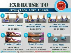 Exercise to strengthen ankles