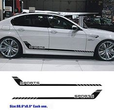 Car Sport Stripes Racing Lower Door Panel Decal for car Side Sticke Fir for All Cars SUV Free Size Matte Color Racing Stickers, Car Stickers, Chevy Tahoe Z71, Carros Suv, Chevrolet Sail, Nissan Gtr R35, Motorcycle Tank, Truck Decals, Car Logos