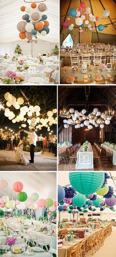 Para decorar: Lanternas de Papel