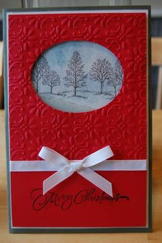 Boss's xmas card by gordysue - Cards and Paper Crafts at Splitcoaststampers