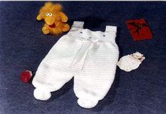 Enterito con pies tejido a crochet