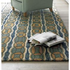 $960 For 9u0027 X 12u0027   Fay Rug In Area Rugs | Crate And