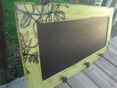 Repurposed Cabinet Door Shabby Chic Apple by TrishasDandelion
