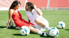Kyle Beckerman's engagement photo