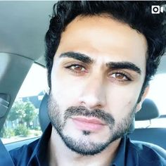 Iraqi model and actor Alexander Uloom, the inspiration for Wasim in Queen of Barrakesch; look at his copper-brown eyes, just like Wasim :-) Royal Brides, Brown Eyes, Mens Sunglasses, Copper, Queen, Actors, Model, Inspiration, Image