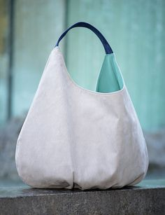 BIG water xxl shoulder hobo packable bag by bandabag on Etsy