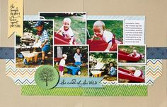 2-page - #scrapbook #scrapbooking #crafting