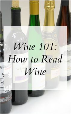 Wine 101: How to Read Wine- Impress your friends with a couple of standard ways to read wine and sound like a pro! | #winepairing | www.savoryexperiments.com