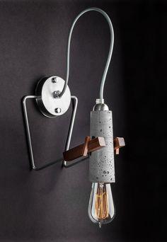 Wall Sonja - lightweight wall concrete lamp