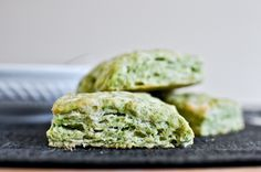 Pesto Parm Scones. Interesting idea...
