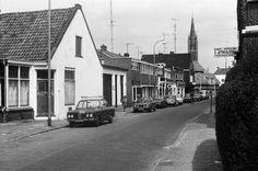 Koningstraat - Hilversum. Met het uitgangbord van kapper I. Zwart.