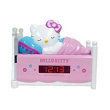"""Sleeping Hello Kitty Alarm Clock Radio with Night Light - Spectra Merchandisin - Toys """"R"""" Us"""
