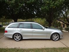 Bid for the chance to own a 2006 Mercedes-Benz AMG Wagon at auction with Bring a Trailer, the home of the best vintage and classic cars online. Mercedes E55 Amg, Top Cars, Classic Cars Online, Station Wagon, Automatic Transmission, Touring, Mercedes Benz Cars
