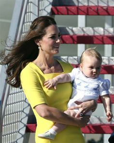 Prince George threw food at cousin's baby when they first met | Story | Wonderwall