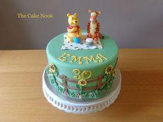 Winnie The Pooh Cake by Zoe Robinson