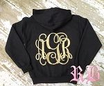 My logo in glitter--omigoshyesplease! Monogram Vines Hoodie by Royal Brat @Betty Daniels