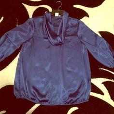 Women's jones New York dress top Women's  cobalt blue cow neck Jones New York dress top! Great condition:) Jones New York Tops Blouses