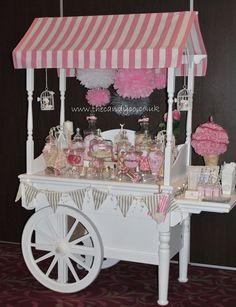 The Candy Company - Candy Cart with old fashioned sweets and new Candy Table, Candy Buffet, Wedding Sweet Cart, Bar Deco, Sweet Buffet, Bar A Bonbon, Lolly Buffet, Sweet Carts, Candy Cart