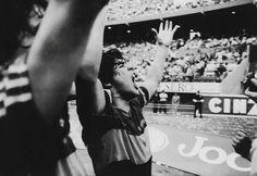 1 de Noviembre de 1981. Grito de gol. Estadio de River Plate. Diego Maradona…