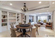 新古典眷戀之『霞公館』_新古典風設計個案—100裝潢網 Table, Furniture, Home Decor, Decoration Home, Room Decor, Tables, Home Furnishings, Home Interior Design, Desk