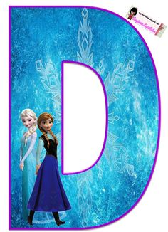 EUGENIA - KATIA ARTES - BLOG OF PERSONALIZED LETTERS AND SOME THINGS: ALPHABET FROZEN 1