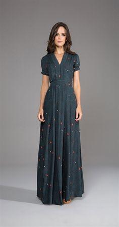 Só na Antix Store você encontra Vestido Longo Esquilos com exclusividade na internet