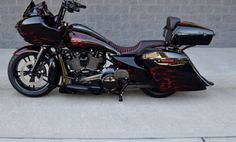 ► Harley Davidson Road Glide Ultra Fat Tire by The Bike Exchange - Harley Road Glide, Harley Davidson Road Glide, Harley Davidson Motorcycles, Custom Street Bikes, Custom Sport Bikes, Harley Bagger, Harley Bikes, Triumph Motorcycles, Custom Motorcycles
