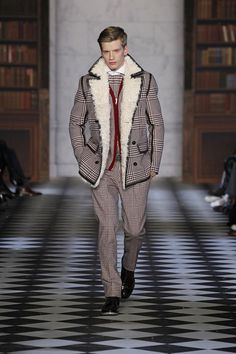 Great textures for Tommy Hilfiger FW13-14