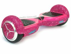 Crystal Segway Bedazzled Segway, Pink Hover Board, Custom