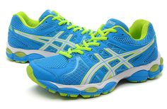Asics Gel-Nimbus 14 Womens's Blue Light-Grey
