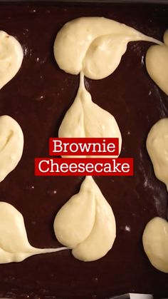 Bakery Recipes, Dessert Recipes, Cooking Recipes, Cheesecake Brownies, Fudgy Brownies, Deli Food, Dessert For Dinner, No Cook Meals, Sweet Recipes
