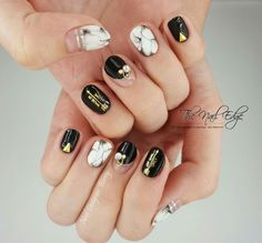 For more designs and step by step tutorials with English subtitles, log on to www.thenailedge.com