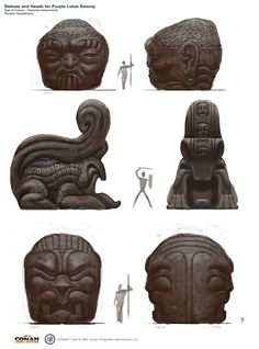 Age of Conan - Hyborian Adventures concept art //last page update 09. July 2008// - Page 2