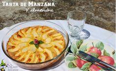 ó carón da Lareira: Tarta de manzana y almendra