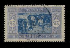 SÉNÉGAL/MAURITANIE - 1922 - CAD DOUBLE CERCLE  BOGHÉ / MAURITANIE  SUR N°60