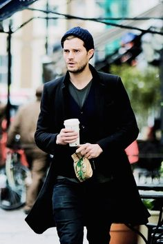 Jamie Dornan in London