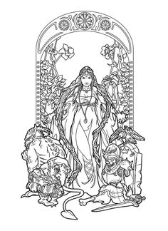 Maleficenta lines by deviantAshtareth on DeviantArt