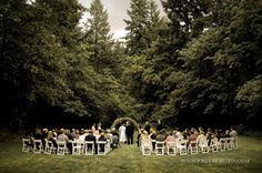Portland Wedding Venues - the Jenkins Estate is a fabulous, 68 wooded-acre wedding venue just outside Portland in Beaverton with a beautiful ranch house and barn, sitting atop Cooper Mountain great for your wedding ceremony or reception. Portland Wedding Venues, Oregon Wine Country, Dream Wedding, Wedding Day, Historic Properties, Outside Wedding, Beaverton Oregon, Fairytale, Parks