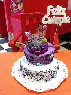 Tortas y Pasteles de Violetta de Disney