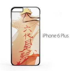 Hokage Naruto Back iPhone 6 Plus Case